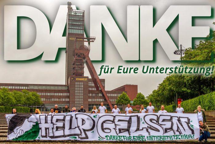 #helpgelsen_danke